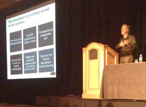 John Rymer speaks at SpringOne Americas 2008