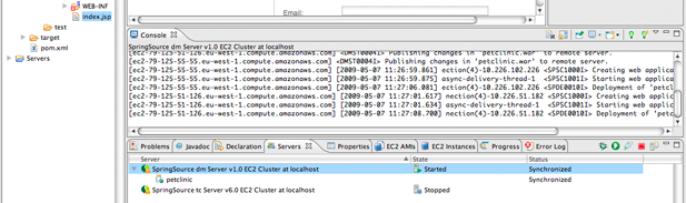 EC2 deployment from STS