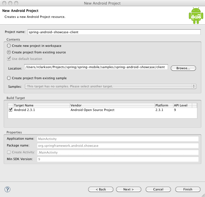 eclipse-new-android-project-settings